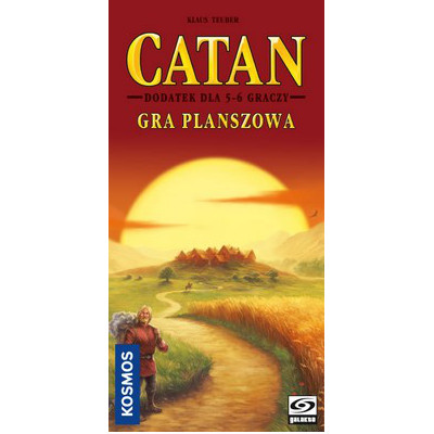 Catan: Gra planszowa - Dodatek dla 5-6 graczy