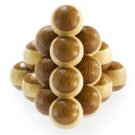 Łamigłówka 3D BAMBOO - Cannon Balls - poziom 2/4