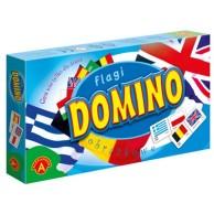Domino obrazkowe - Flagi Loteryjki i układanki Alexander