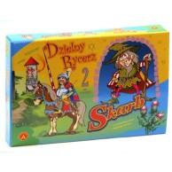 Dzielny rycerz + Skarb - 2 gry