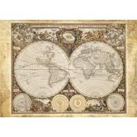 Puzzle 2000 el. Historyczna mapa świata
