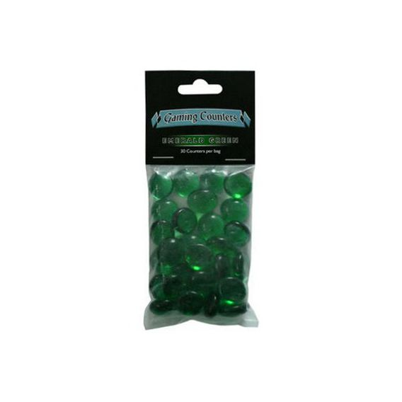 Gaming Counters - Emerald Green