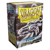 Dragon Shield - Clear 100 szt. Do gier karcianych Arcane Tinmen