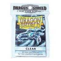 Dragon Shield - Mini Clear 50 szt.