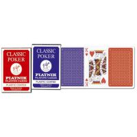 Karty 1321 Classic Poker blue