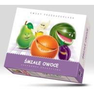 Śmiałe owoce - układanka edukacyjna