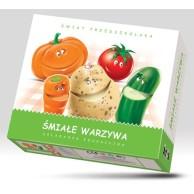 Śmiałe warzywa - układanka edukacyjna