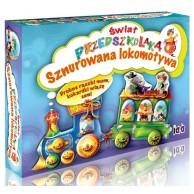 Świat przedszkolaka - Sznurowana lokomotywa