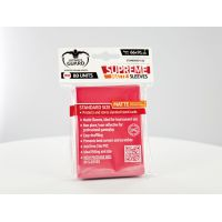 Ultimate Guard Supreme Sleeves Standard Size Matte Red (80)