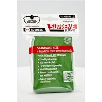 Ultimate Guard Supreme Sleeves Standard Size Solid Green (80)