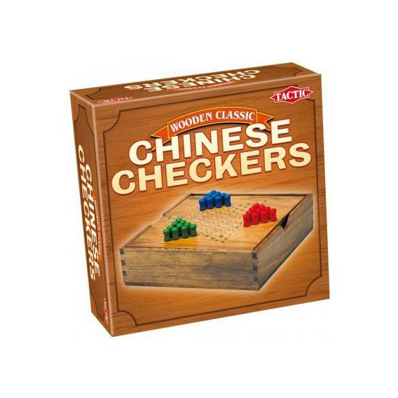 Tactic Wooden Classic - Chińskie warcaby