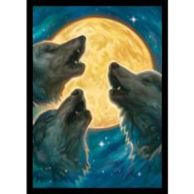 Legion - Matte Sleeves - 3 Wolves Double Matte Sleeves (50 Sleeves)