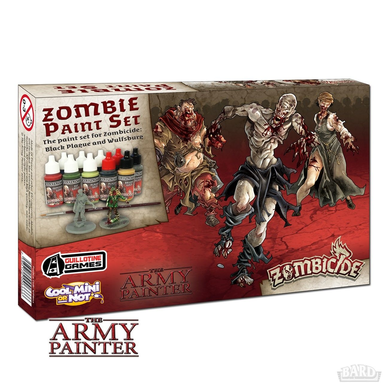 Army Painter zestaw farb Zombicide: Black Plague