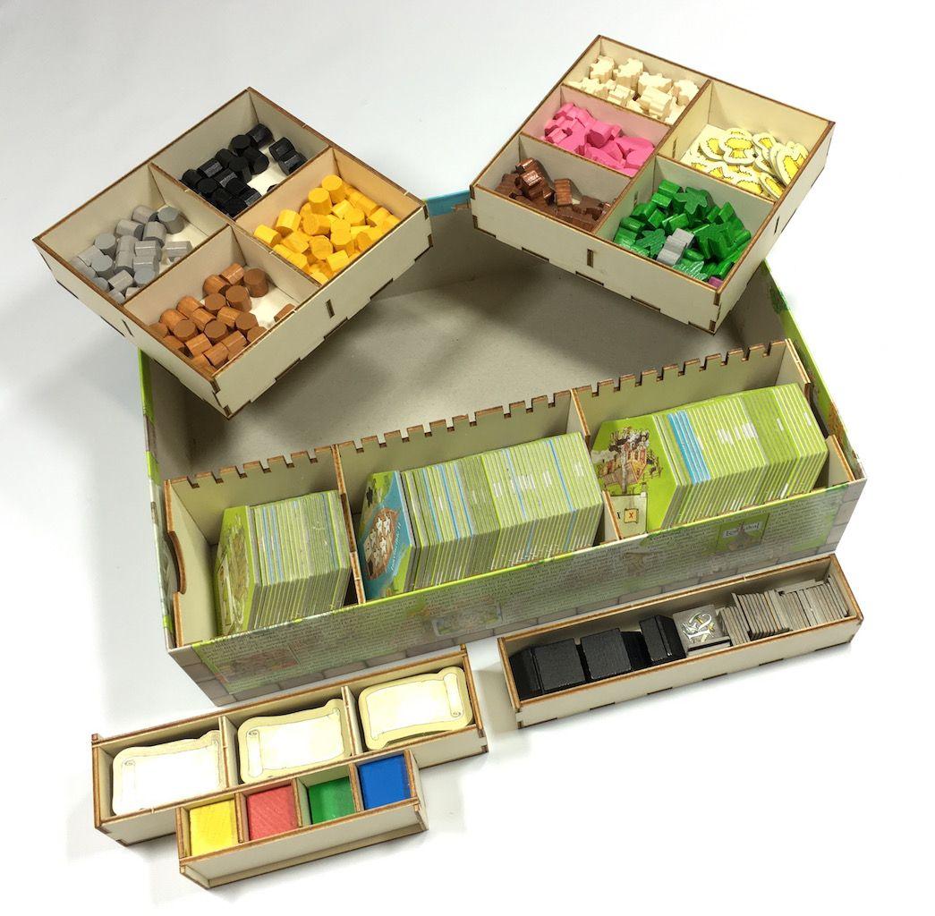 Geekmod - Drewniany insert pasujący do gry Keyflower