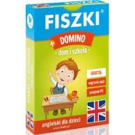 Fiszki + Gra Domino - Dom i Szkoła