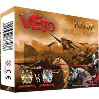 Veto - Potop: Fat Pack Starter (Radziwiłłowie vs Dworscy) Veto Fabryka Gier Historycznych