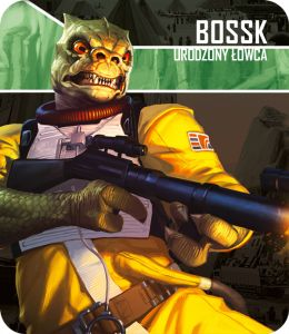 Star Wars: Imperium Atakuje - Bossk: Urodzony łowca