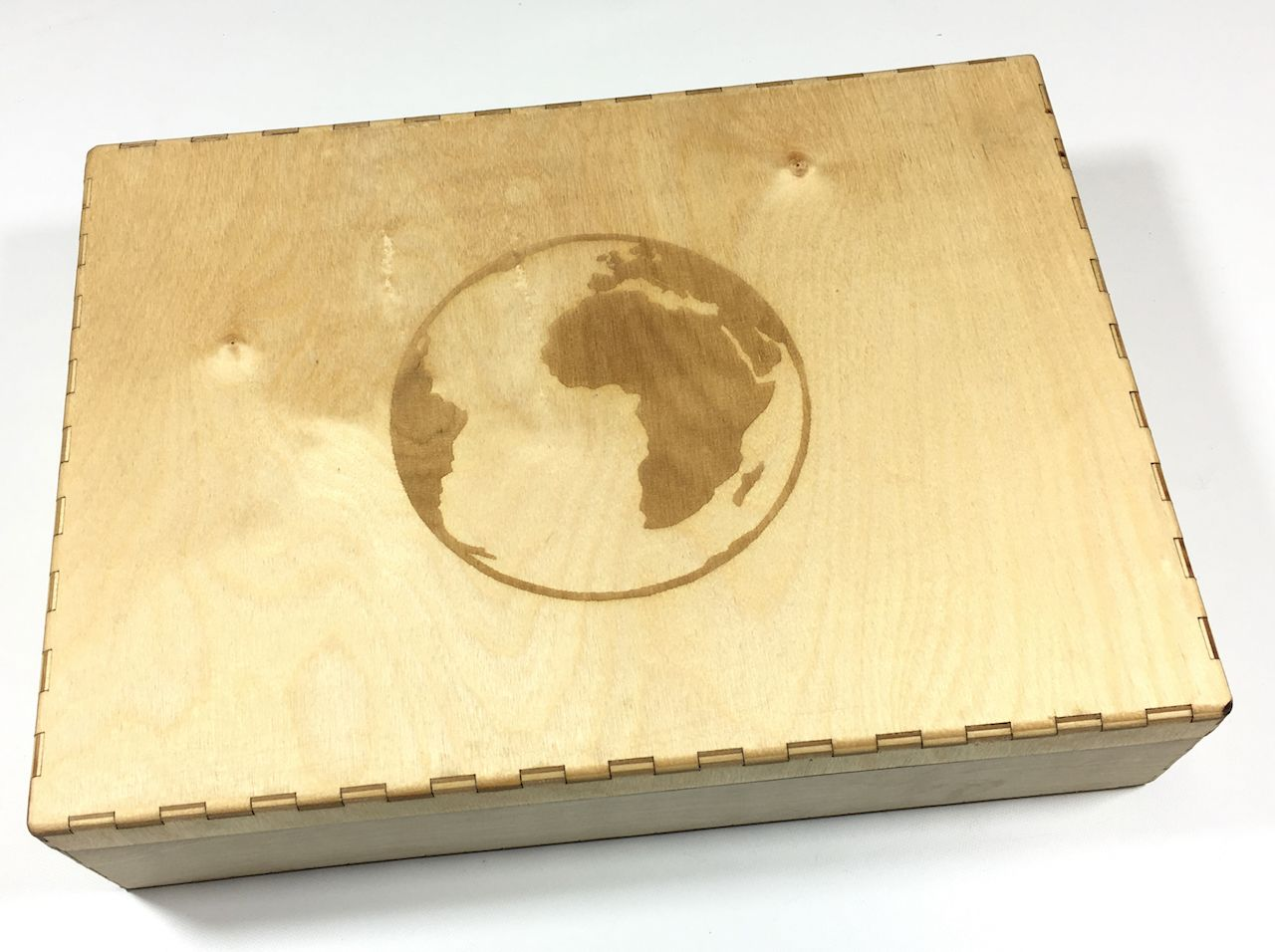 GeekMod - Drewniana skrzynia na elementy do gry Leaving Earth