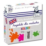 Karty obrazkowe: Angielski Dla Malucha - Kolory Dla dzieci Edgard