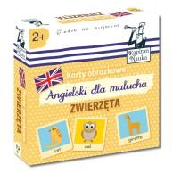 Karty obrazkowe: Angielski Dla Malucha - Zwierzęta Dla dzieci Edgard