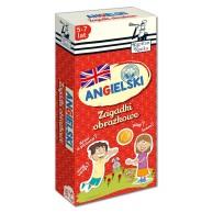 Kapitan Nauka: Zagadki obrazkowe - Angielski 5-7 lat Dla dzieci Edgard