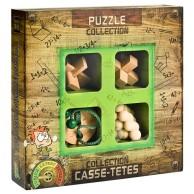 Łamigłówki drewniane 4 szt. JUNIOR Eureka! 3d Puzzle Eureka 3D