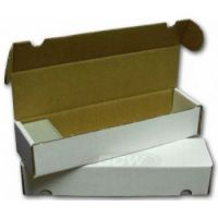Cardbox / Fold-out Box with Lid for Storage of 1.000 Cards