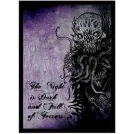 Legion - Matte Sleeves - Night is Dark Double Matte Sleeves (50 Sleeves)