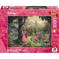 PQ Puzzle 1000 el. THOMAS KINKADE Śpiąca królewna (Disney)