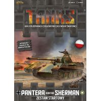 Tanks: Pantera kontra Sherman - Zestaw Startowy Tanks Gale Force Nine