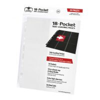 18-Pocket Pages Side-Loading White (10) Ultimate Guard Ultimate Guard