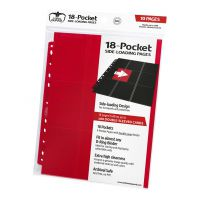 18-Pocket Pages Side-Loading Red (10) Ultimate Guard Ultimate Guard