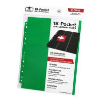 18-Pocket Pages Side-Loading Green (10) Ultimate Guard Ultimate Guard