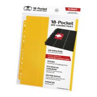 18-Pocket Pages Side-Loading Yellow (10)