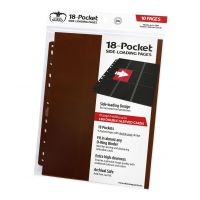 18-Pocket Pages Side-Loading Brown (10) Ultimate Guard Ultimate Guard