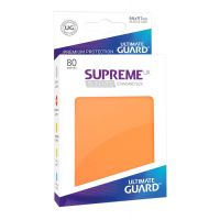 Ultimate Guard Supreme UX Sleeves Standard Size Orange (80) Jednokolorowe Ultimate Guard