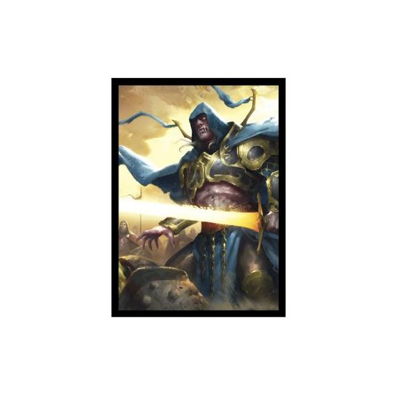 Legion - Matte Sleeves - EPIC - Knight of Shadows (60 Sleeves) Epic Card Game Legion
