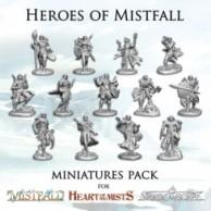 Mistfall: Heroes of Mistfall Miniatures Pack