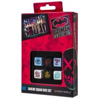 Komplet kości K6 Batman Miniature Game - Suicide Squad Set