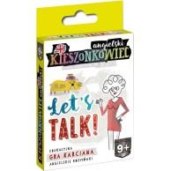 Kieszonkowiec angielski: Let's Talk! Edukacyjne Edgard