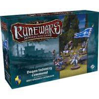 RuneWars: The Miniatures Game - Daqan Infantry Unit Upgrade Expansion
