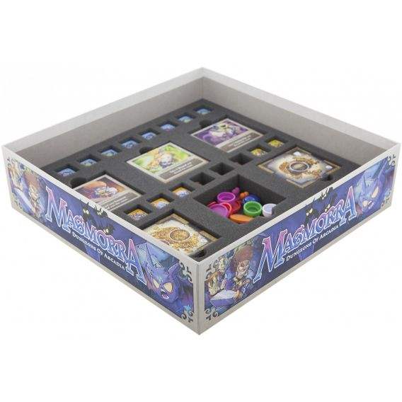 Gąbka do Masmorra: Dungeons of Arcadia - 33 compartments for dice and dungeon tiles Masmorra Feldherr