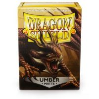 Dragon Shield Standard Sleeves - Matte Umber (100 Sleeves)