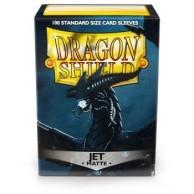 Dragon Shield Standard Sleeves - Matte Jet (100 Sleeves)