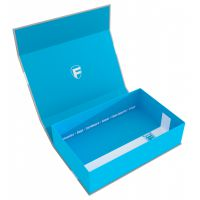Feldherr Magnetic Box half-size 75 mm blue