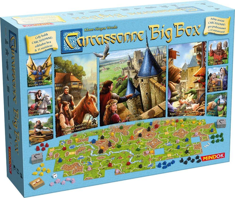 Carcassonne Big Box 6 edycja polska