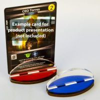 Blackfire Card Stands - Red/Blue (2 Pack)