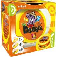 Dobble Zwierzaki Gry dla Dzieci Rebel