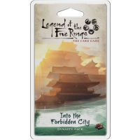 L5R LCG: Into the Forbidden City Imperial Cycle - Dynasty Packs Fantasy Flight Games
