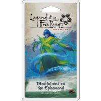 L5R LCG: Meditations on the Ephemeral Imperial Cycle - Dynasty Packs Fantasy Flight Games